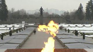 По всей России проходят памятные мероприятия по случаю 77-й годовщины снятия блокады Ленинграда.