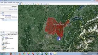how to convert shapefile from arcgis to kmz in google earth