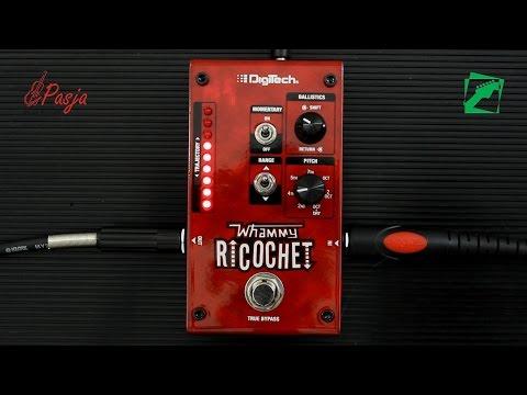 DigiTech Whammy Ricochet - demo, reamping test