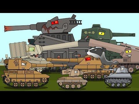 Топ 30 - Мультики про танки
