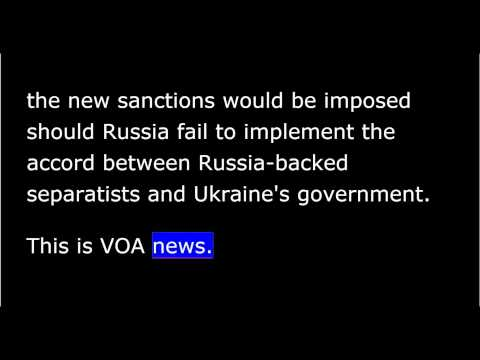 VOA news for Thursday, March 5th, 2015