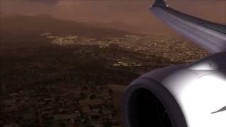 FSX KLM Royal Dutch Boeing 737-800 Landing at Athens Airport(, 2011-12-18T01:26:37.000Z)