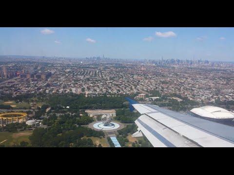 Landing At LaGuardia Airport DL 2486