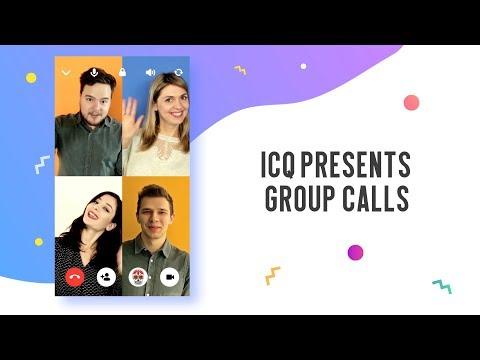 ICQ Group Calls Eng