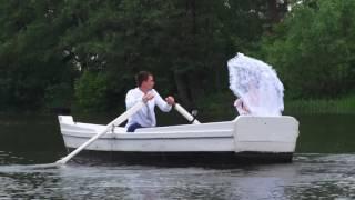 Аэро видео съёмка свадьбы с квадрокоптера Ceewa S1