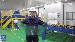 China sets record for super-thin glass