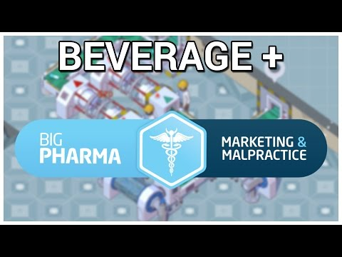 Beverage + Big Pharma: Marketing and Malpractice