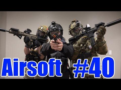 Utah Milsim City Airsoft Gameplay #40 - Knocking off the Rust