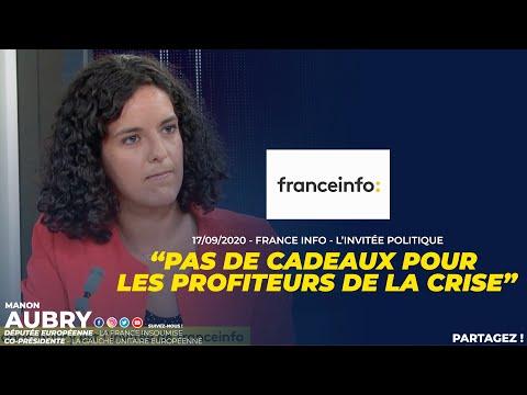 PAS DE CADEAUX POUR LES PROFITEURS DE LA CRISE - Manon Aubry
