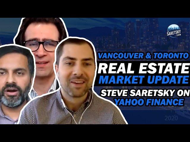 Vancouver & Toronto Real Estate Market Update - Saretsky on Yahoo Finance