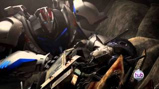 TFP: Optimus Prime and Smokescreen : I Got You Covered