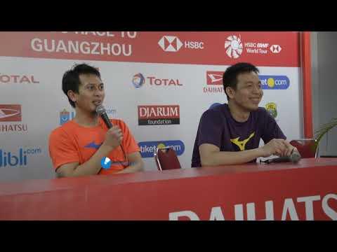 Prescon Asyik Sendiri Mohamad Ahsan & Hendra Setiawan Indonesia Masters 2019 - 동영상