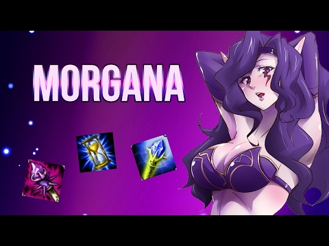 видео: league of legends (lol). Моргана гайд. Саппорти и тащи 2 в 1.