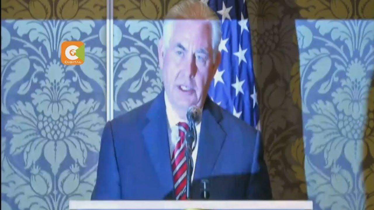 US Secretary Rex Tillerson falls ill on Nairobi visit