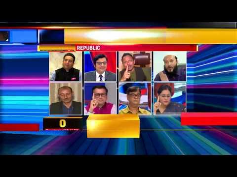 Arnab Goswami Laughs At NDTV On Live Debate Republic TV