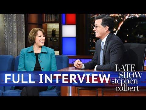 Full Interview: Sen. Amy Klobuchar Talks To Stephen Colbert