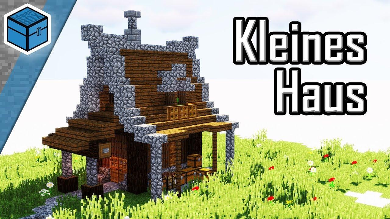 Kleines Haus in Minecraft bauen | Minecraft kleines Haus bauen deutsch