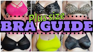 THE BRA GUIDE! | From Sexy to Sports Bras for Plus Size