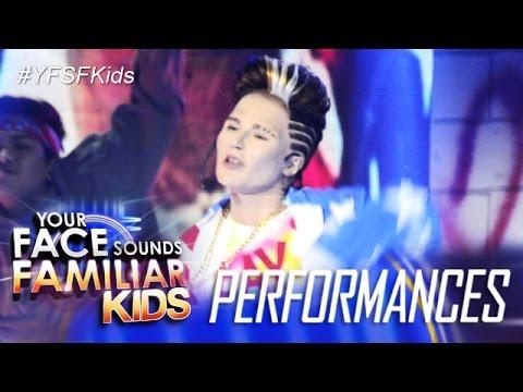 Your Face Sounds Familiar Kids: AC Bonifacio as Vanilla Ice - Ice Ice Baby