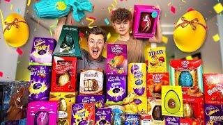 BROTHERS MELT EVERY TYPE OF CHOCOLATE  EASTER EGG TOGETHER *Special*