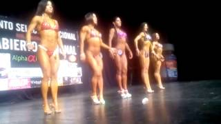 Gaby Espino en Mr Coahuila Nacional Abierto Fitness Figura