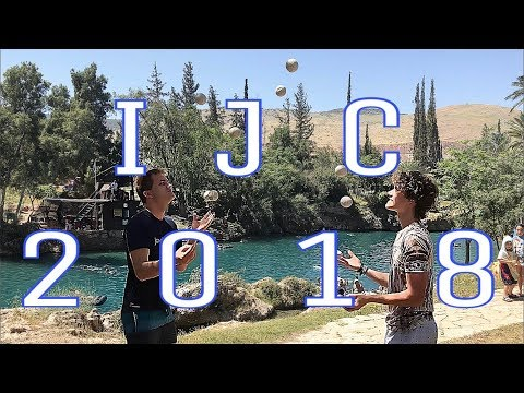 Trip to the IJC - Israeli Juggling Convention 2018 (ENGLISH Vlog)