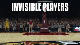 Playing With Invisible Players In NBA 2K18! Hardest Game Ever!
