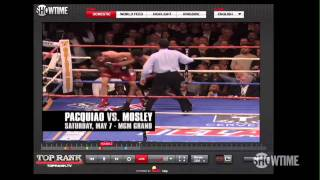 Watch the Pacquiao vs. Mosley Pay-Per-View Online - SHOWTIME Boxing - Boxeo