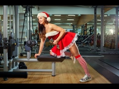 BUILD YOUR BODY - Christmas in GYM - Female Fitness Motivation HD