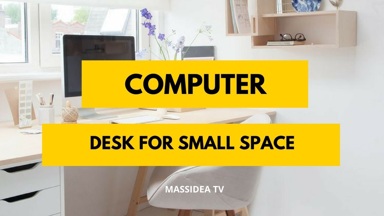 - 50+ Creative Small Space Computer Desk Ideas - YouTube