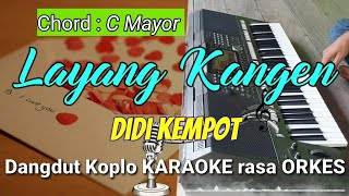Download LAYANG KANGEN - Didi Kempot Versi Dangdut Koplo KARAOKE rasa ORKES Yamaha PSR S970