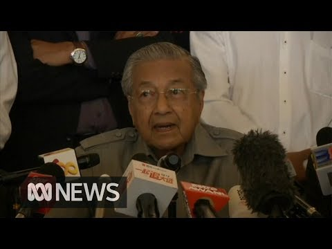 Malaysia's Mahathir Mohamad declares 'urgency' to be sworn in today as Prime Minister