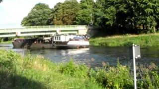 Passt es oder nicht // Kanalbrücke Spreenhagen