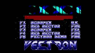 Vectron - Art of Noise - Amiga Music Disk (50 FPS)