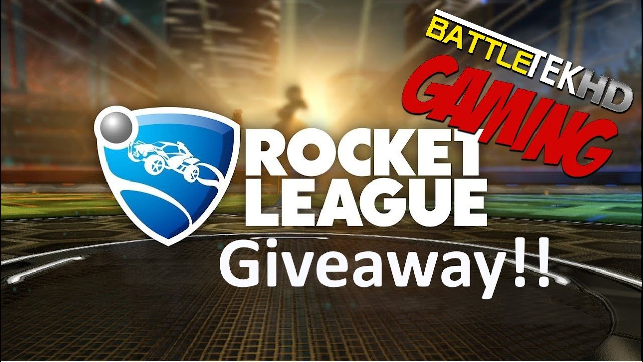 rocket league free giveaway