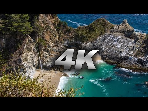 BIG SUR IN 4K: I Can See The Light Nature Relaxation Music Video Travis Revell