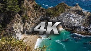 "BIG SUR IN 4K: ""I Can See The Light"" Nature Relaxation Music Video Travis Revell"