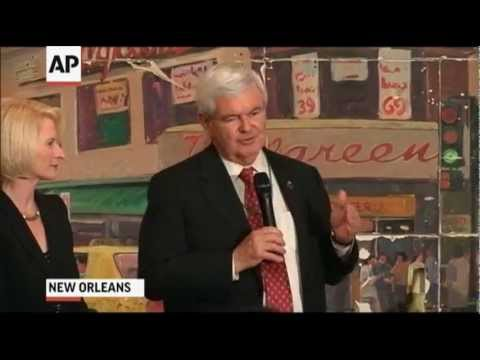 Gingrich Promises to Help Louisiana Economy