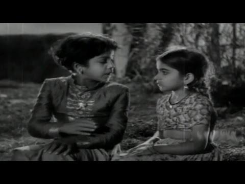 Devadasu Movie || Devadas & Parvathi Childhood Best Scene || ANR, Savitri