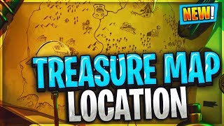 SEARCH WHERE THE MAGNIFYING GLASS SITS ON THE TREASURE MAP LOADING SCREEN LOCATION FORTNITE WEEK 3