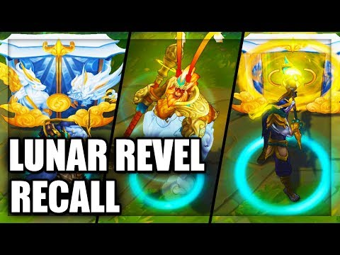 All Lunar Revel Skins Recall Animations League of Legends