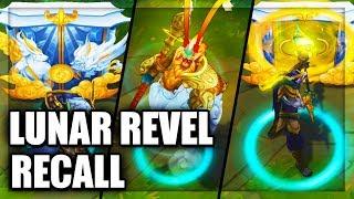 All Lunar Revel Skins Recall Animations League of Legends