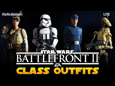 Star Wars Battlefront 2 ALL Outfits
