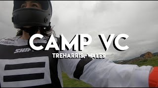 CAMP VC, Treharris Wales [모토브이로그, 바이크 일기]
