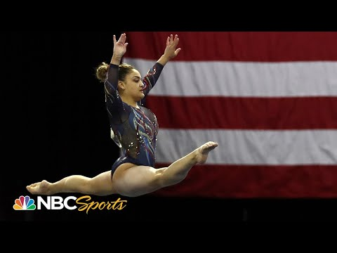 Laurie Hernandez IS BACK for the first time since Rio at 2021 Winter Cup