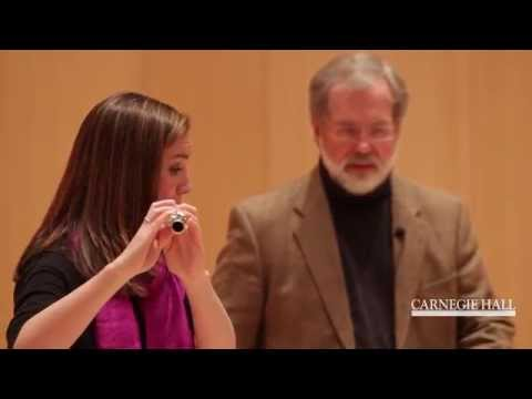 Carnegie Hall Flute Master Class: Beethoven's Leonore Overture No. 3