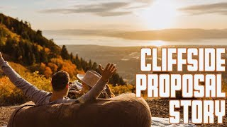 CLIFFSIDE PROPOSAL STORY | EXPLOSIVE FALL COLORS | HUSBAND AND WIFE SURPRISE DATE NIGHT