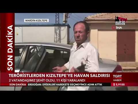 Teröristlerden Kızıltepe'ye Havan Saldırısı: '2 Sivil Şehit, 11 Yaralımız Var