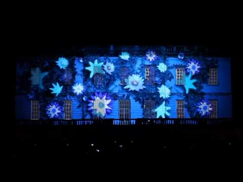 Bombay Sapphire 3D projection mapping