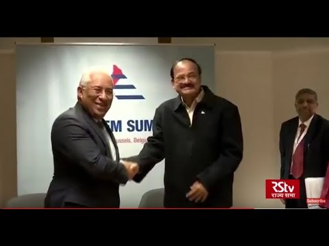 Vice President attends the opening ceremony of the 12th ASEM in Brussels